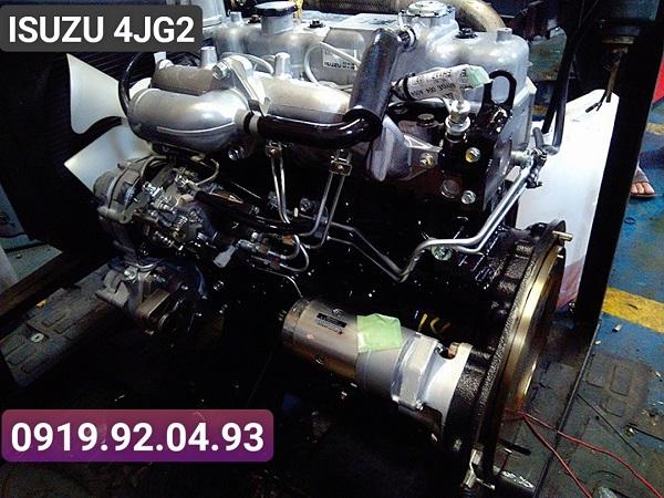 Động cơ Isuzu Japan được đại tu thay mới 100%