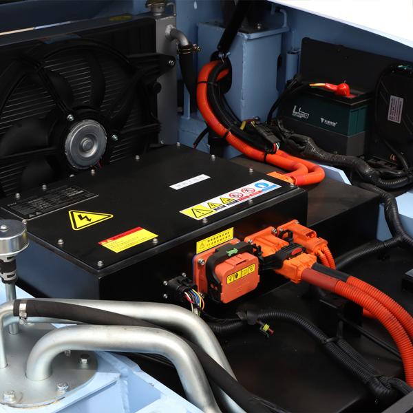 Pin xe nâng Litium Ion