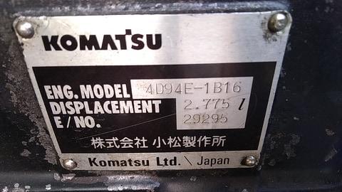 Tấm lắc xe nâng Komatsu FD25W-12