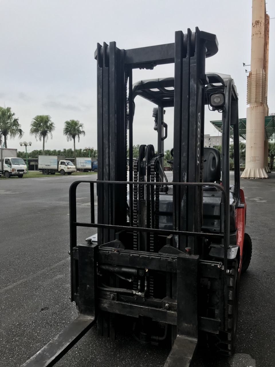 second hand forklift truck 2.5 ton